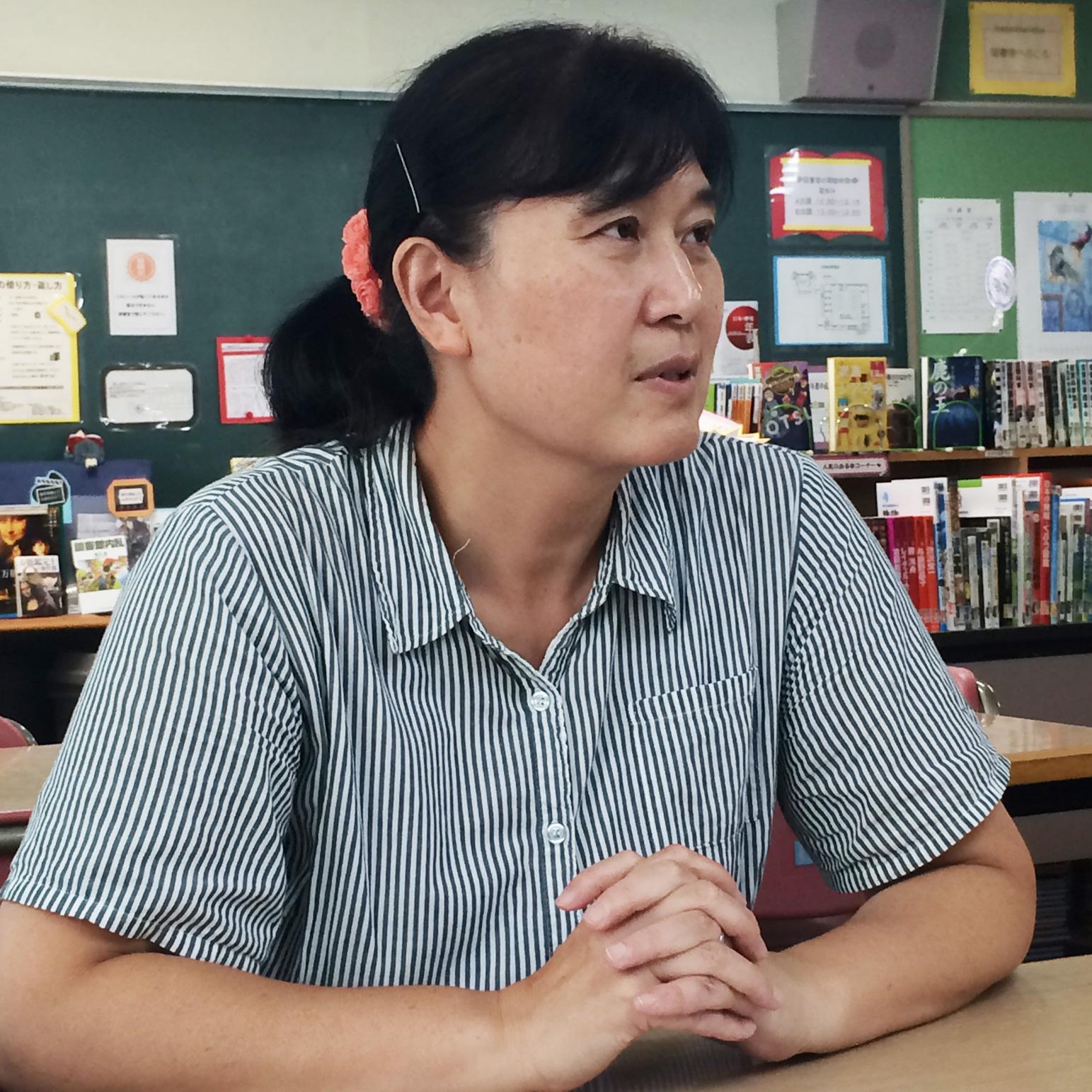 予進中学校松田先生