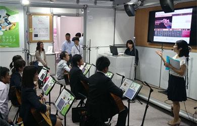模擬授業器楽ギター