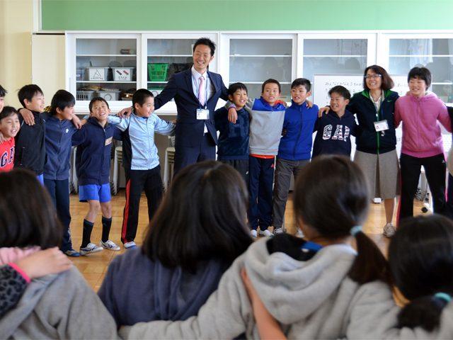 静岡県浜松市立井伊谷小5年生の学年歌づくりサポート事例